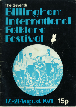 7th Billingham International Folklore Festival programme.