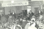 Playing for the Wythenshawe Hospital League of Friends in the fifties, with the great John Faulkner on the mace.