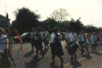 A procession in the heat (1980s).